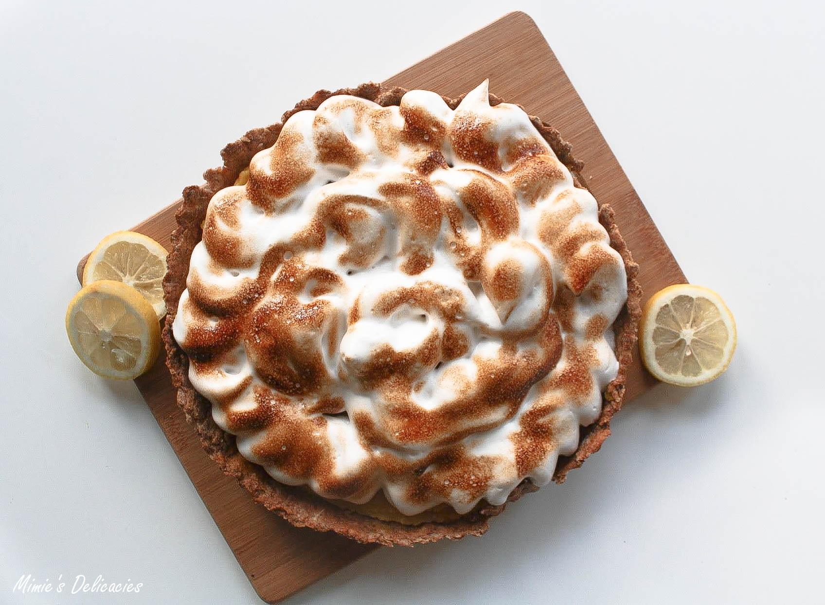 Tarte au citron meringu e facile vegan sans gluten - Tarte au citron meringuee facile ...