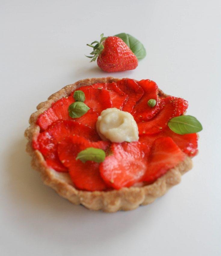 Strawberry & Frangipane Tartlets