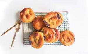 Mini Blueberry Clafoutis – vegan & gluten-free