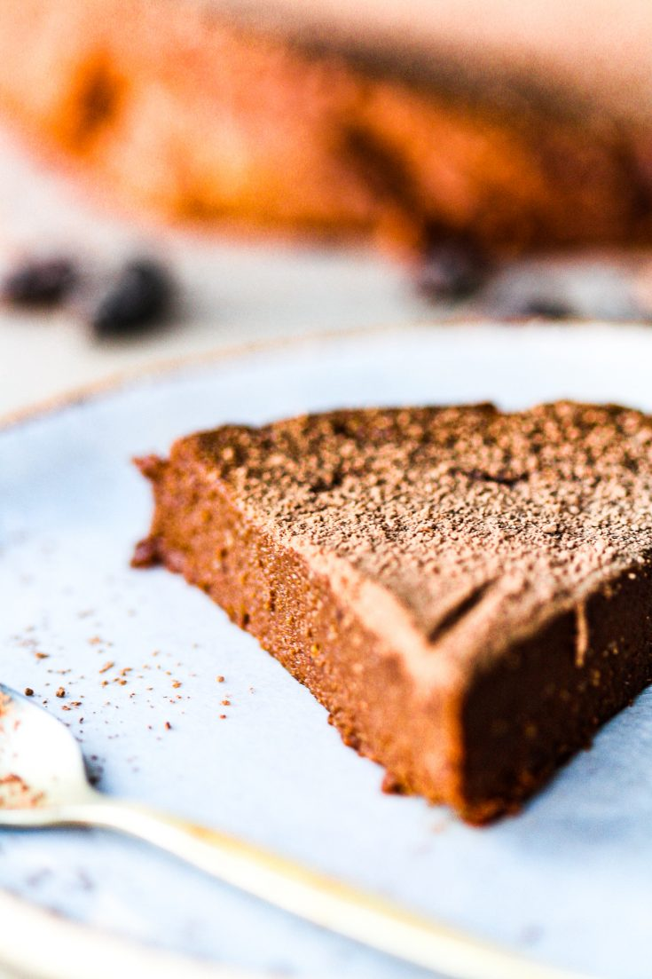 Gâteau au Chocolat Sans Farine & Végan