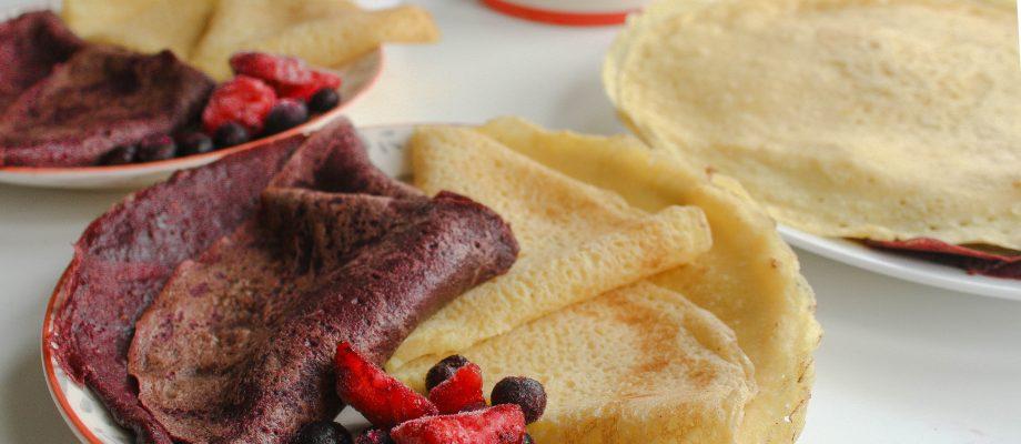 Sweet Potato Crêpes – Vegan & Gluten-Free