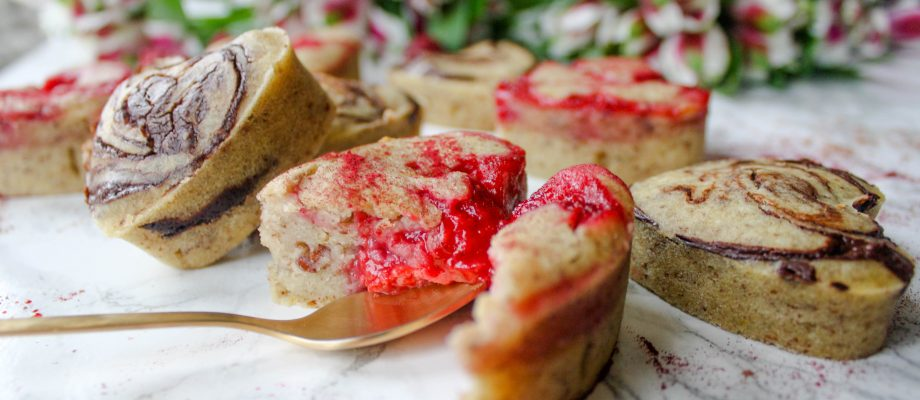 Valentine's Chocolate & Raspberry Fondants – Vegan & Gluten-Free