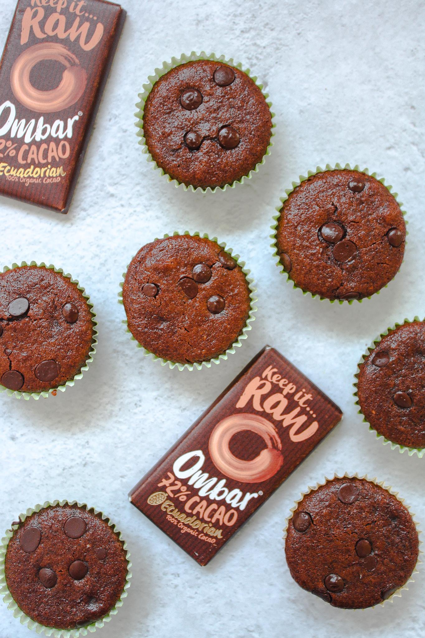 Vegan & Gluten-Free Chocolate Muffins
