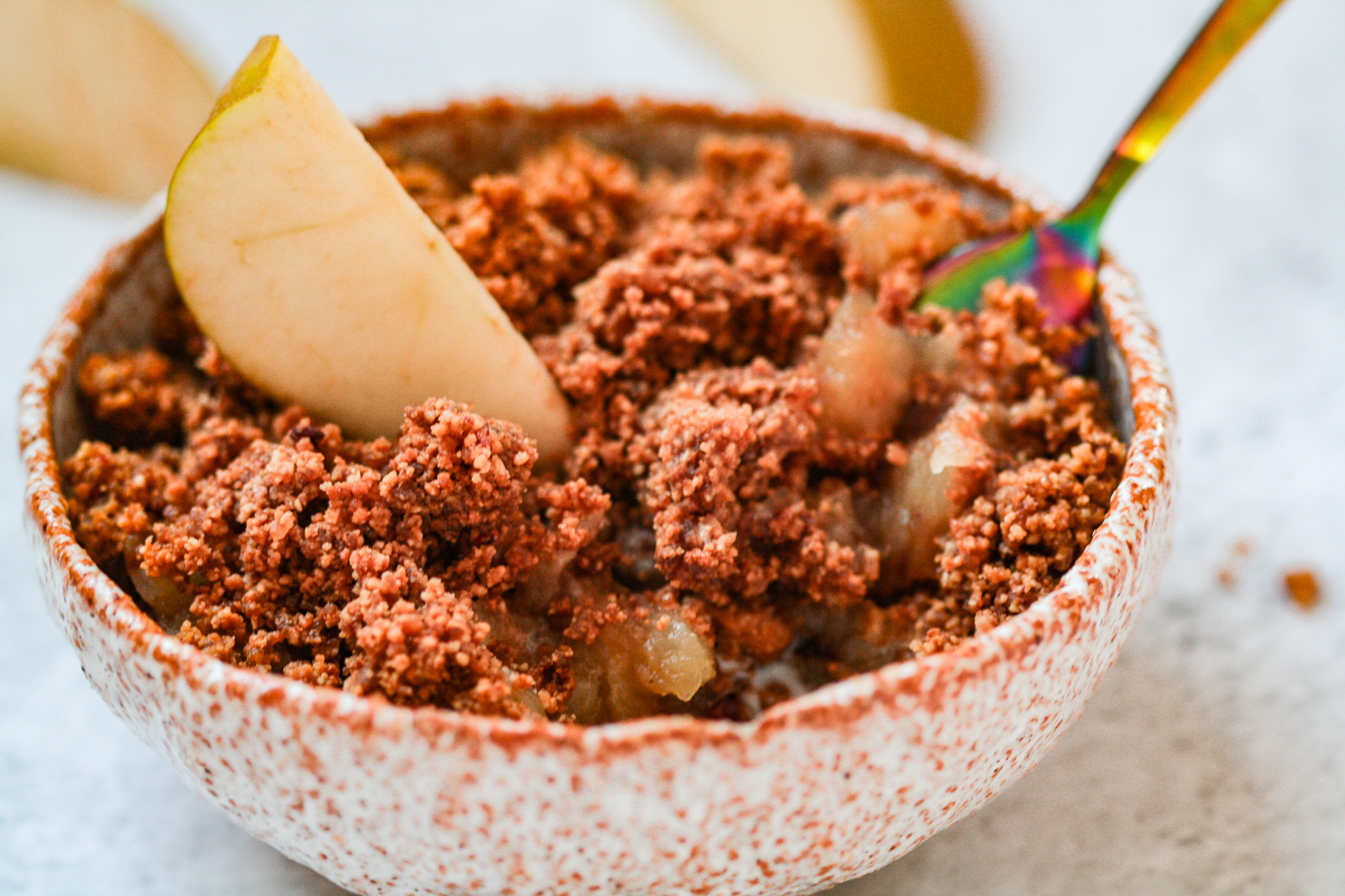 Almond & Cinnamon Crumble