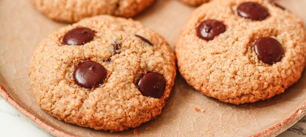 Cookies Végan aux Pépites de Chocolat