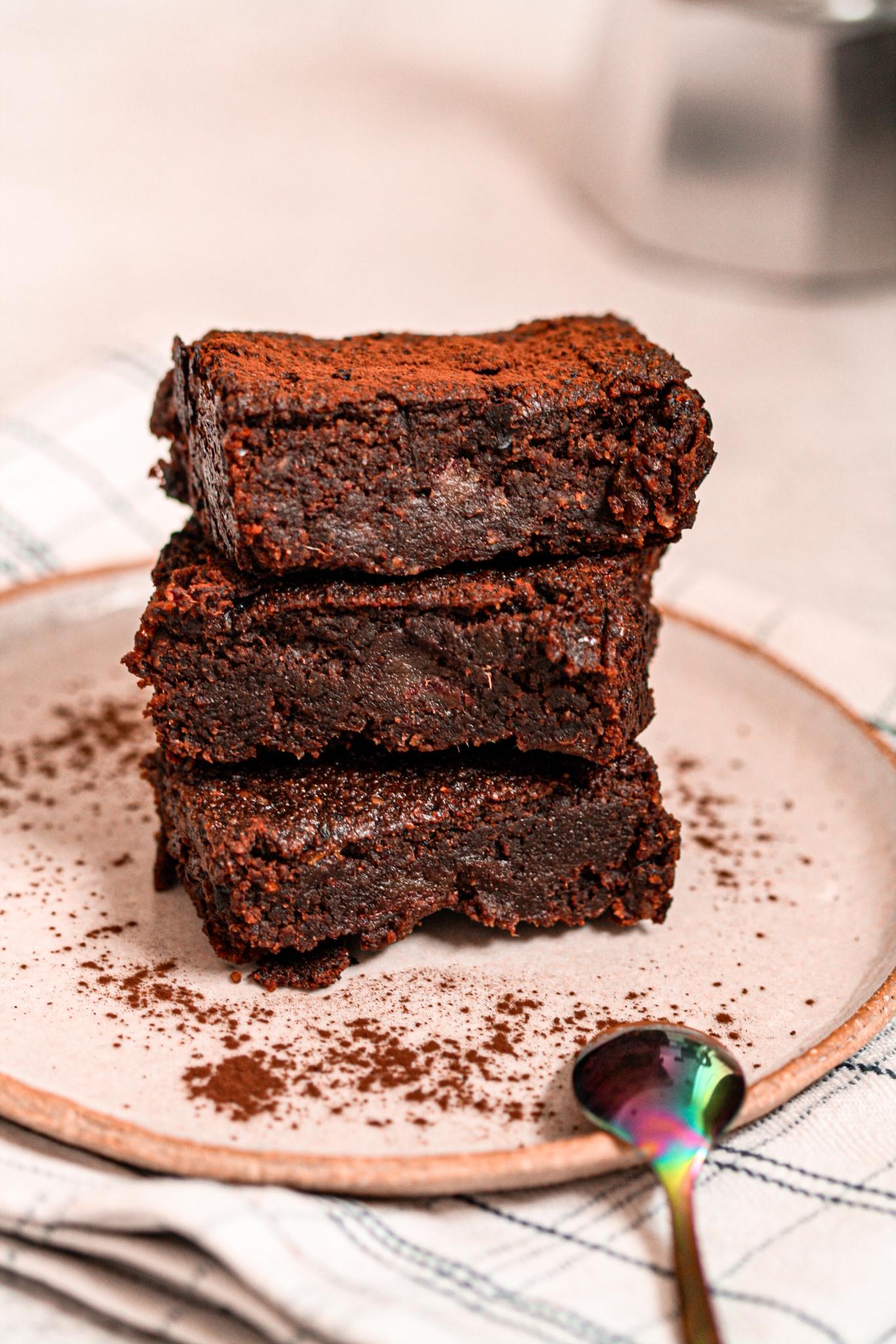 Vegan & Sugar-Free Brownie