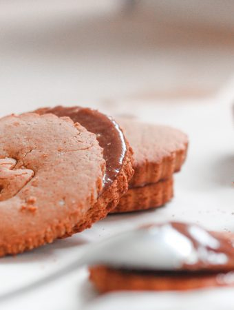 Vegan Chocolate Sandwiched Biscuits