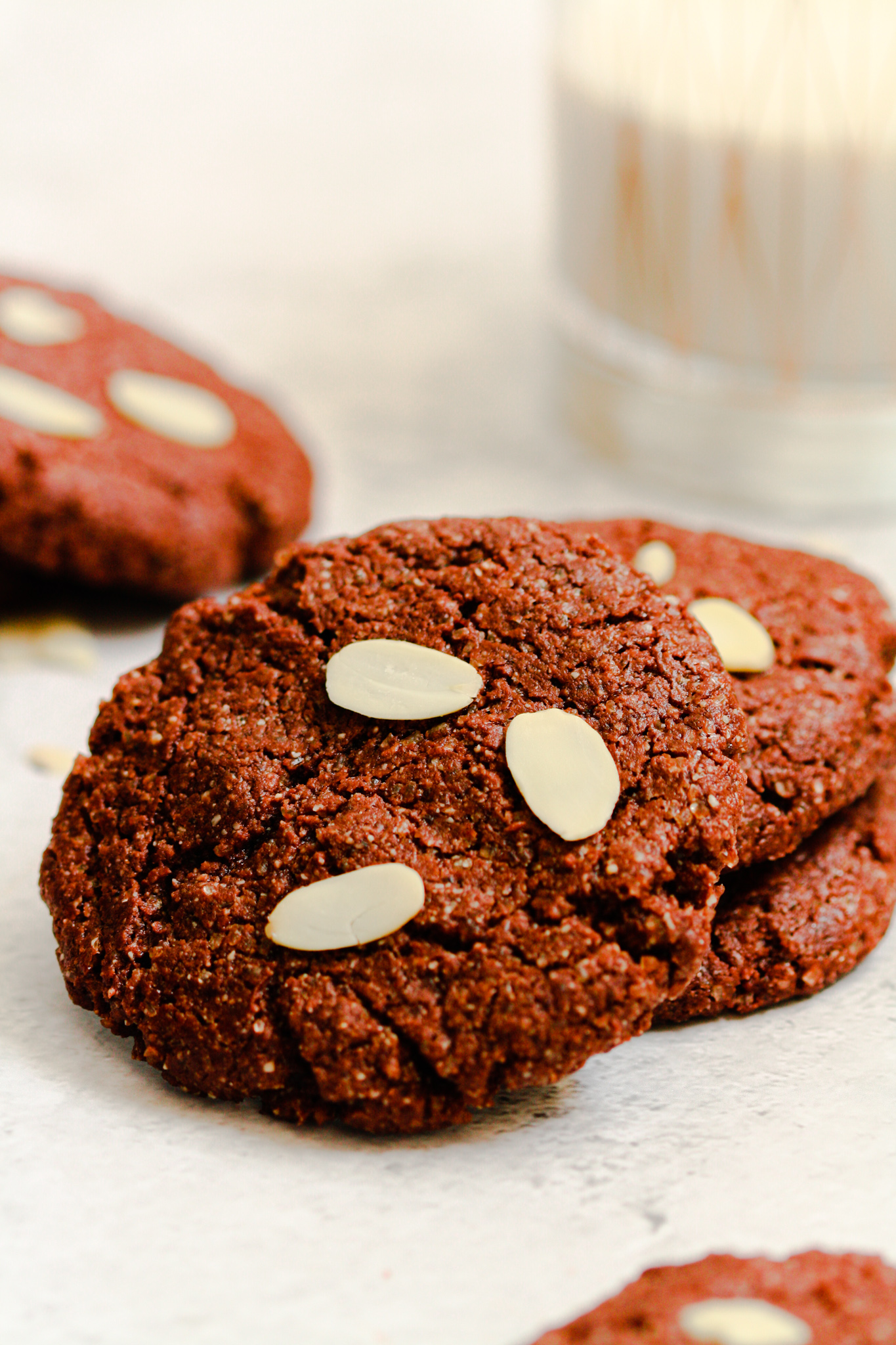 Easy Vegan & Gluten-Free Chocolate Cookies