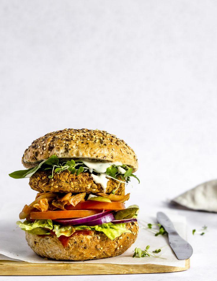 Burger Végan & Sans Gluten