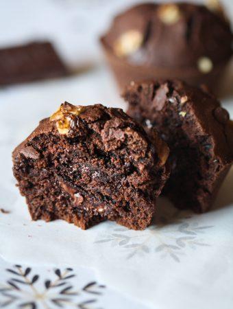 Muffins au Chocolat Sans Huile